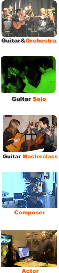 Guitar&Orchestra Guitar Solo Guitar Masterclass Composer Actor